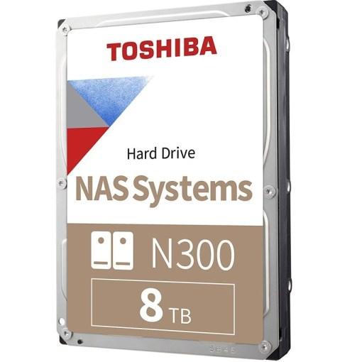 Toshiba 8TB 3.5 Inch NAS Hard Drive N300 HDWN180