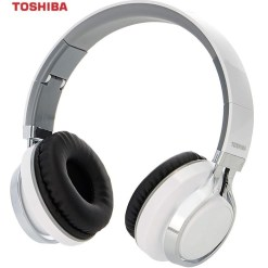 Toshiba Foldable Wireless Headphones RZE-BT200H White