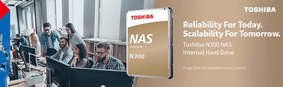 Toshiba N300 NAS Internal Hard Drive