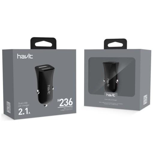 Havit Dual USB Car Charger 2.1Amp