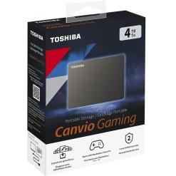 Toshiba Canvio Gaming 4TB Portable External Hard Drive HDTX140EK3AA