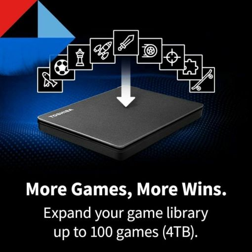 Toshiba Canvio Gaming 4TB