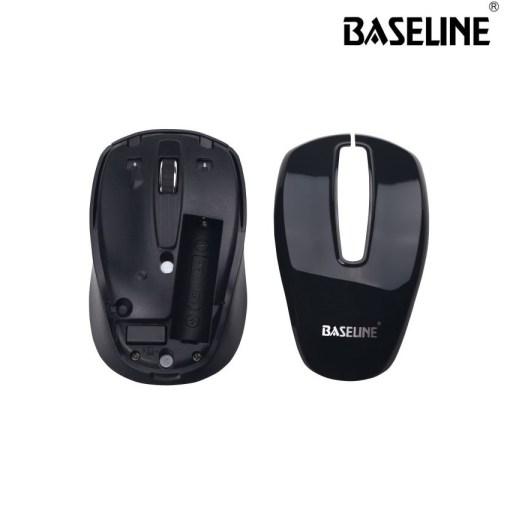 Baseline 2.4GHz Wireless Optical Mouse BL-WOM303 Black