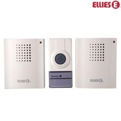 Ellies Wireless Door Bell With 2 x Receivers BDBWD1
