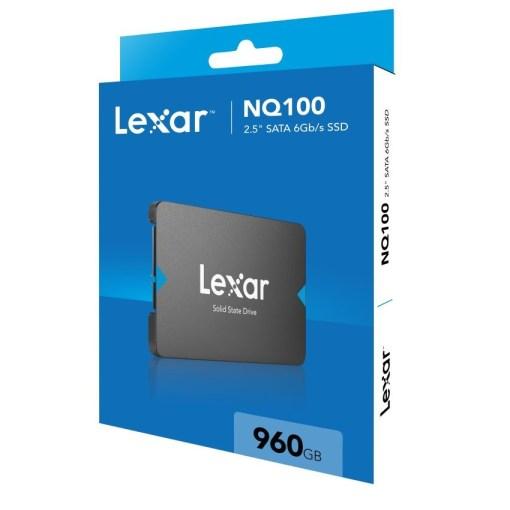 Lexar NQ100 2.5 inch SATA III 6Gbs 960GB SSD