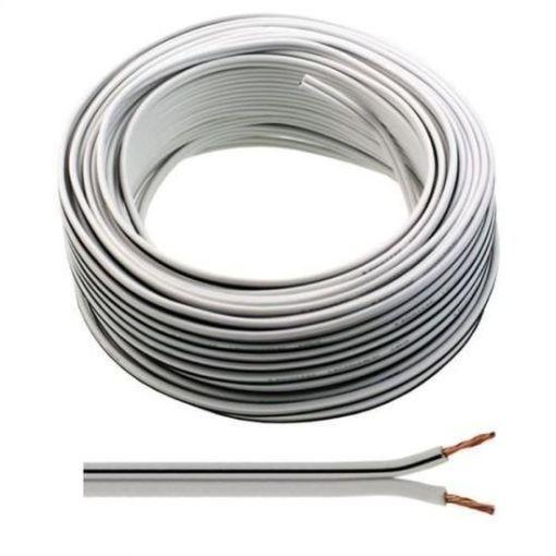 Speaker Cable 0.5mm White Black