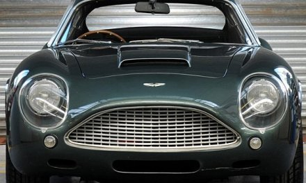 $1.9 million for 1991 Aston Martin DB4GT Zagato Sanction II Coupé