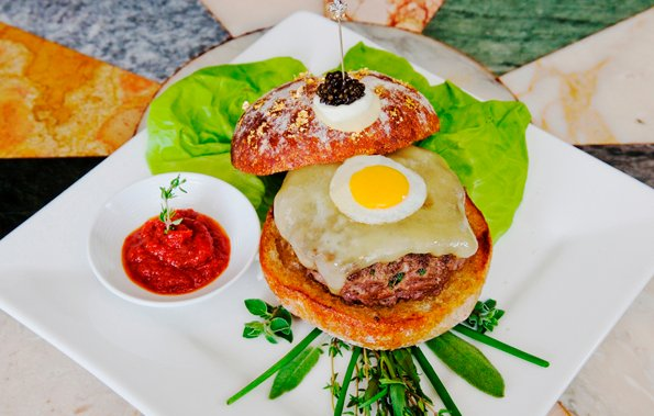 The most expensive hamburger is Le Burger Extravagant