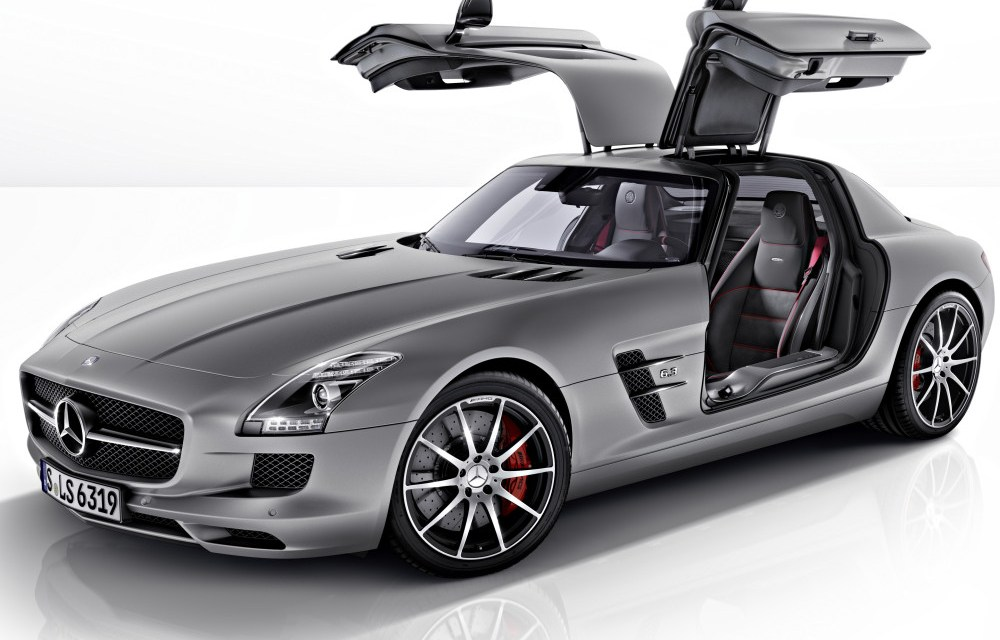 The new Mercedes-Benz SLS AMG GT