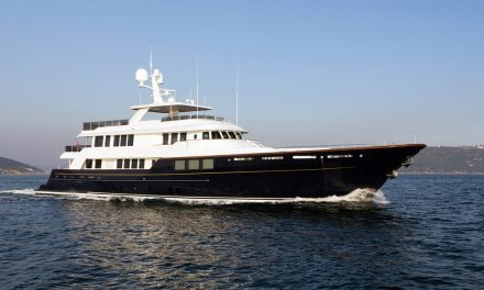 SuperYacht: Karia by RMK and Ron Holland