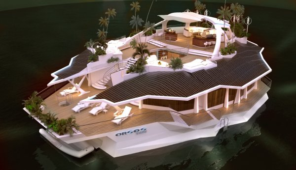 ORSOS Island – $4.7 million artificial island