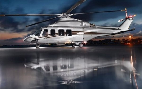 Helicopter Agusta by Pininfarina design