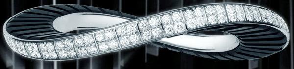 cartier bracelet onyx gold diamonds