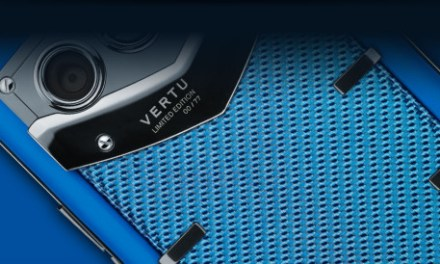 Vertu Constellation Blue