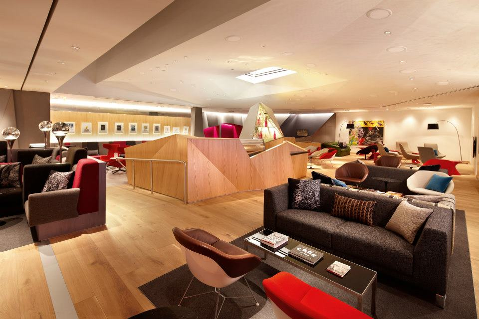 Virgin Atlantic unveils new Clubhouse at Newark