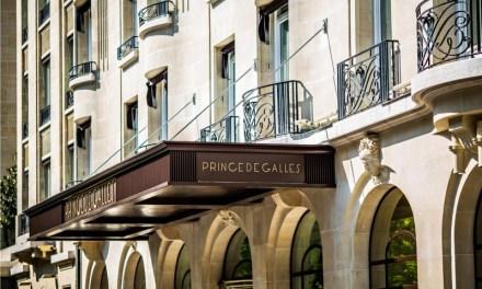 Reopening of Prince de Galles Hotel in Paris