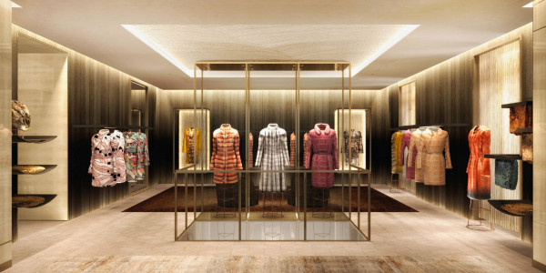 Fendi Maison at Avenue Montaigne Haute Fourrure.