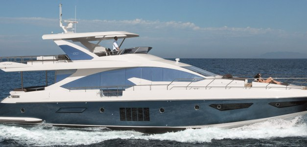 Azimut 80 will make its official debut at Cannes Nautical  Boat Shows
