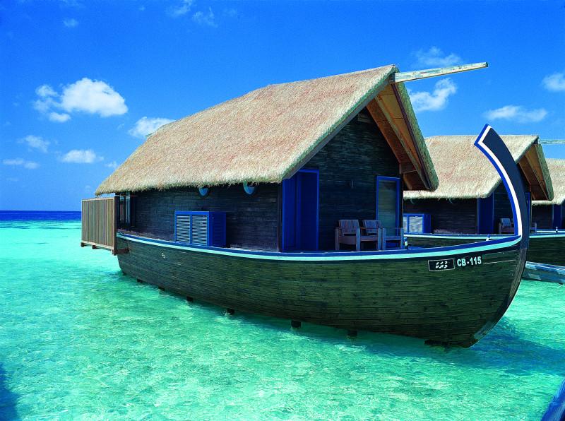 Maldives beautiful boat hotel