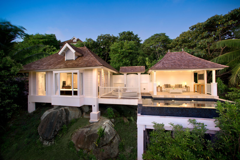 Banyan Tree Seychelles Hillside Pool Villa