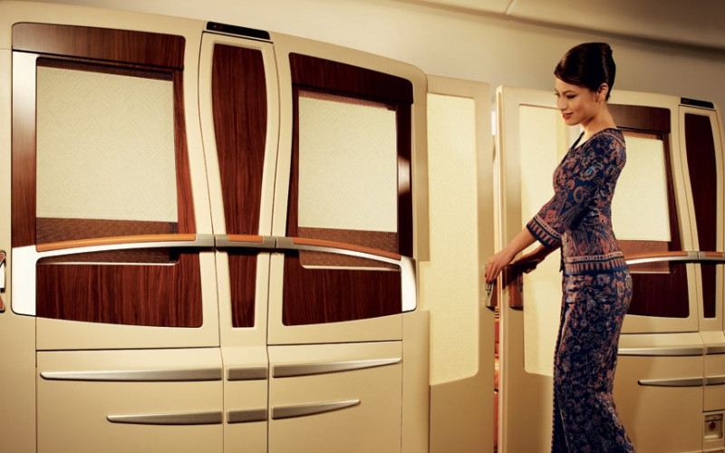 Singapore Airlines first class seats