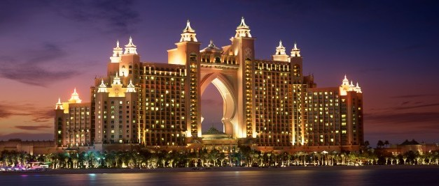 Atlantis is the flagship resort on The Palm, Dubai