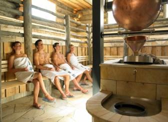 AQUA DOME Austria sauna