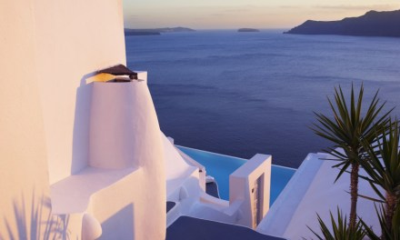 Katikies Hotel in Santorini, Greece