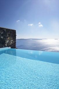 Katikies Hotel, infinite pool