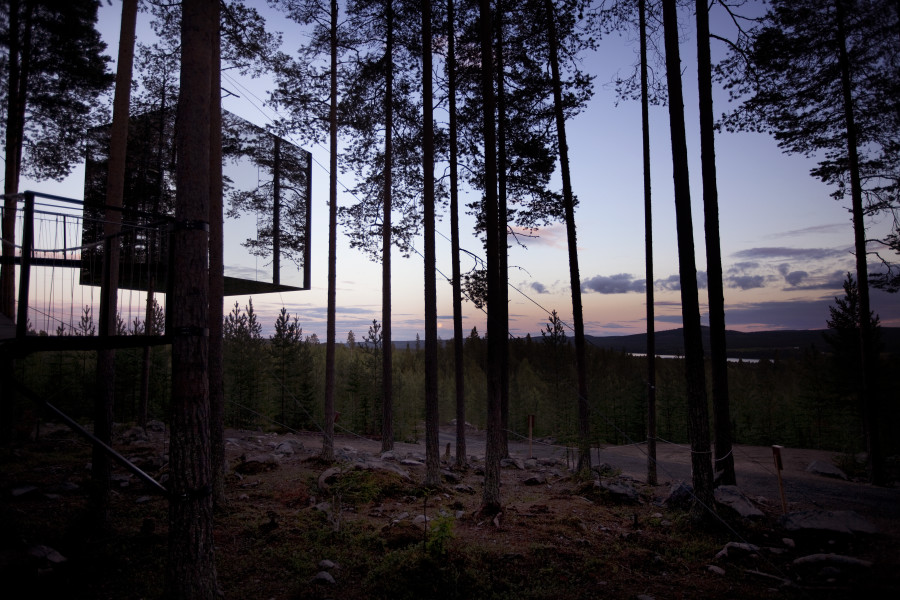 Treehotel: relax surrounded by unspoiled nature