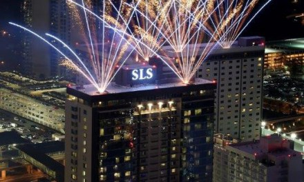 SLS Las Vegas opened its doors after $415 million renovation