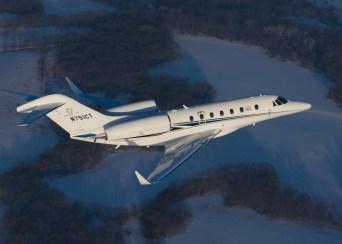 Citation X+ mid-size business jet