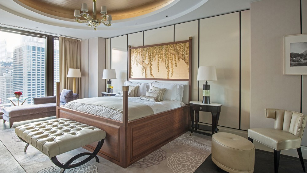 Langham Chicago-tlchi-rooms-regent-suite-regent-masterbdrm-view