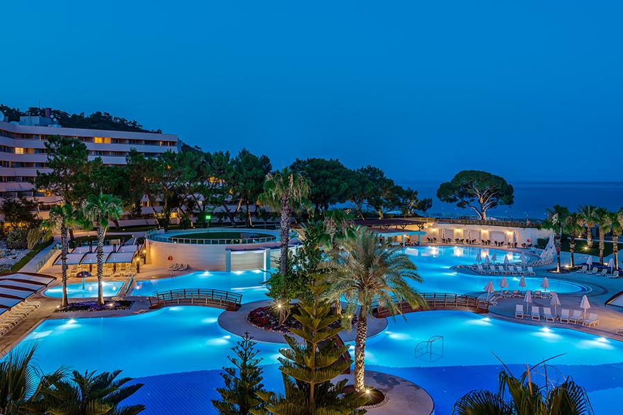Rixos Premium Tekirova: A Palatial Hotel