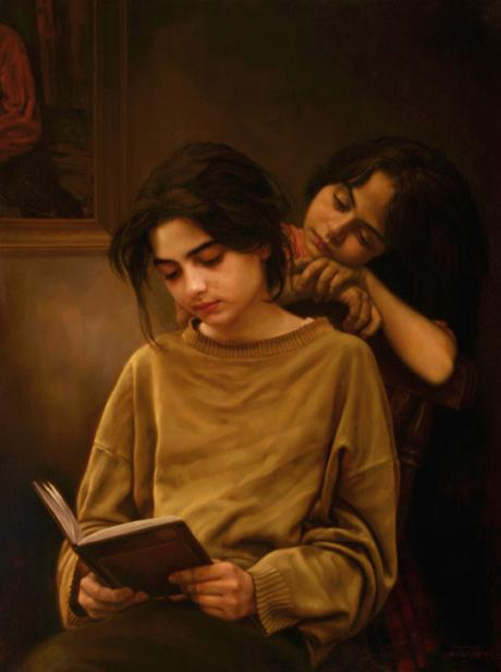 Amazing painting of IMAN MALEKI
