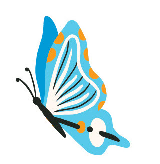 Just Enduring Living And Loving After Child Loss Butterfly Logo