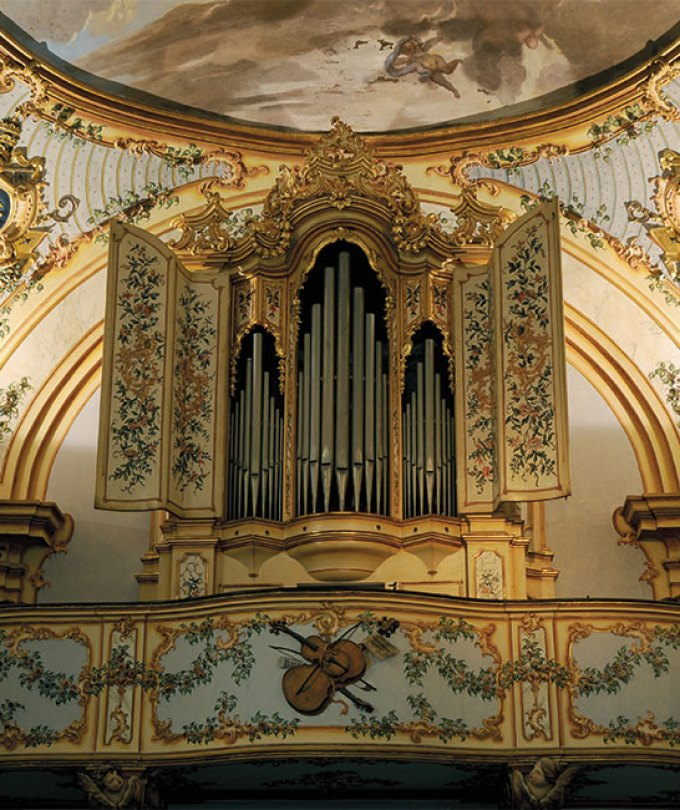 Organ by Pittalunga, Sistine Chapel of Savona*