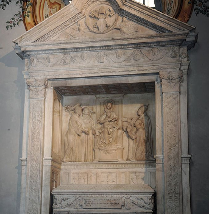 Funerary Monument, Sistine Chapel of Savona