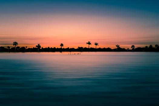 Dawn Across the Pond