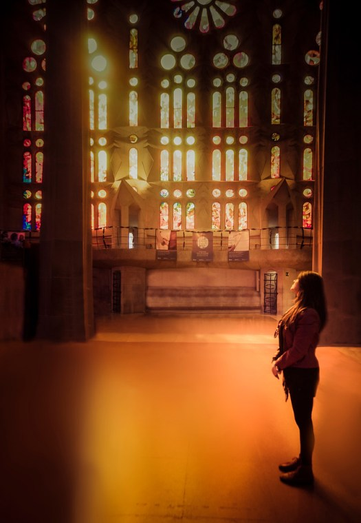 Sagrada Familia Light
