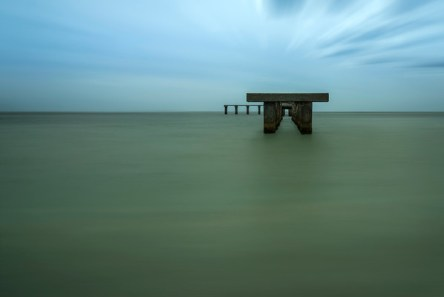 This is another long exposure of an old pier at Gasparilla Island State Park in Boca Grande. There's something about making time stand still that I find appealing. In any case, this is one of the last images I took before smashing my camera on the seawall. Don't ask, it was my fault. Lucky for me I had an extended warranty and Sony fixed it good as new. Now that I have my camera back I'm going to look for more of these images, only this time I'll stay off the seawall.
