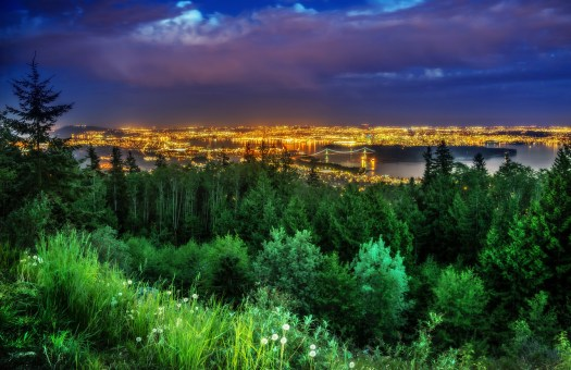 A friend of mine suggested Cypress Point as a possible place to get a good view of the city. He passed me a link that listed it as one of Vancouver's