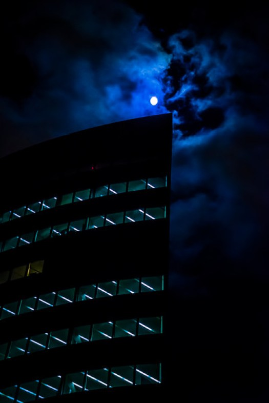 This is from a series of night photos I shot hand held in downtown Hartford CT. The camera I used is the Sony A7s, which I believe has the highest ISO rating in the world. Basically that means that it's extremely sensitive so that it can see things in the dark. Certainly I could have taken these with another camera, but I would have needed to use a tripod. That's not such a bad thing, but I love the idea of walking around with just a camera at night and doing street photography. I guess you could say it opens up a whole new world in terms of shooting scenes at night. In any case, I'm going to a lot more of this in the months to come.
