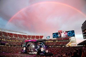Santa Clara, CA - June 27: Grateful Dead performs on Fare Thee Well: Celebrating 50 Years Of Grateful Dead at Levi Stadium on June 27, 2015 in Santa Clara, California.  (Photo by Jeff Kravitz/FilmMagic)