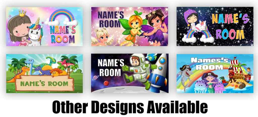 Personalised Name Sign for Kids