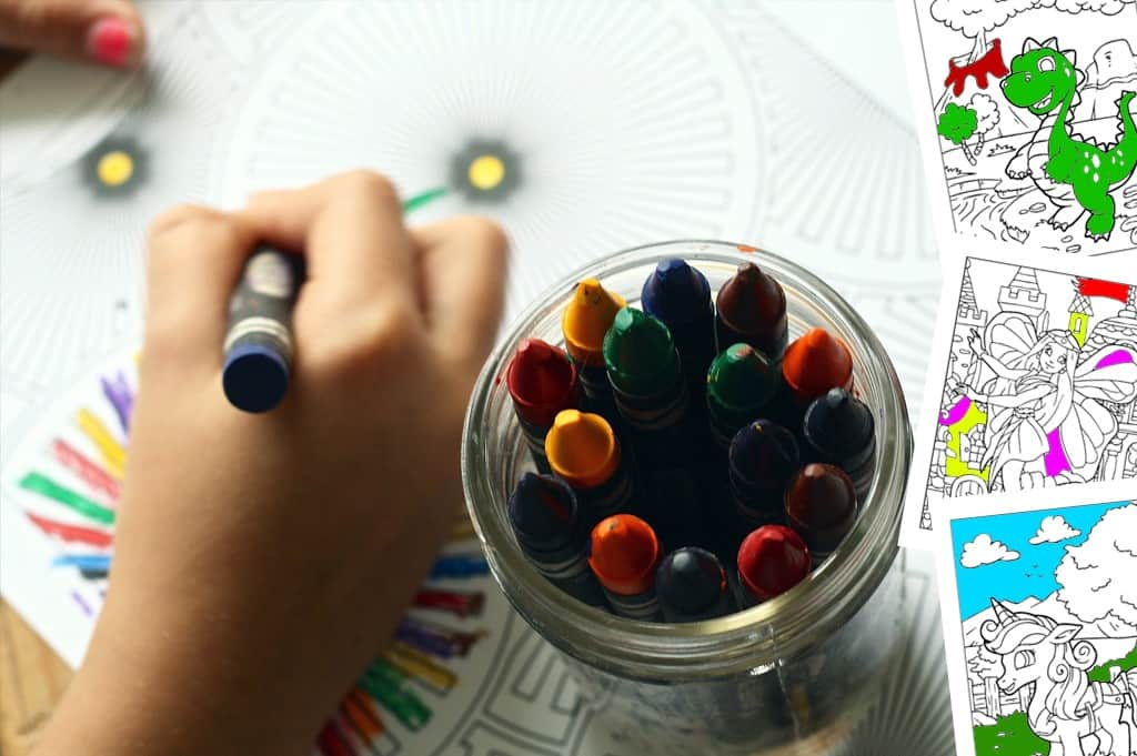 Free and Fun Printable Colouring Pages for Kids and Adults
