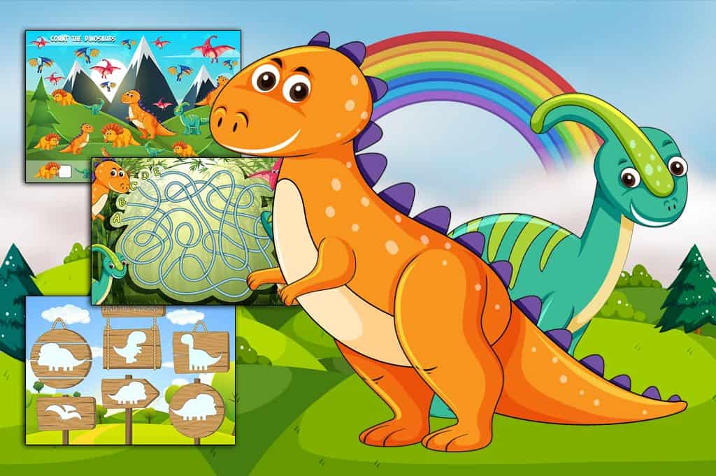 Prehistoric Activities Worksheets: Learn While You Play!