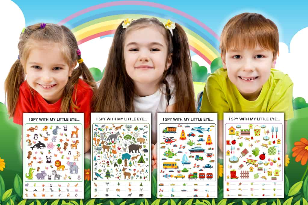 Free Printable I Spy Worksheets For Kids