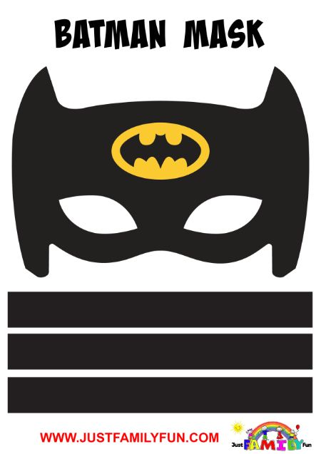 batman mask printable