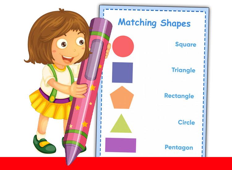 matching shapes worksheets